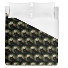 Cute Animal Drops   Red Panda Duvet Cover (queen Size)