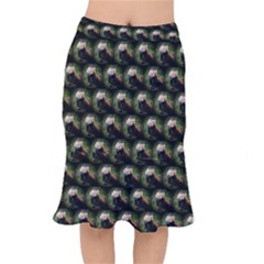 Cute Animal Drops   Red Panda Mermaid Skirt