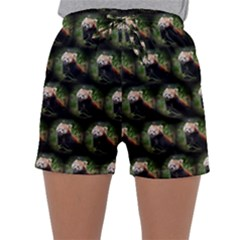 Cute Animal Drops   Red Panda Sleepwear Shorts