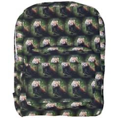 Cute Animal Drops   Red Panda Full Print Backpack