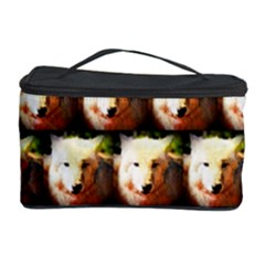 Cute Animal Drops   Wolf Cosmetic Storage Case