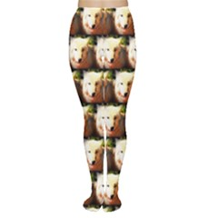 Cute Animal Drops   Wolf Women s Tights