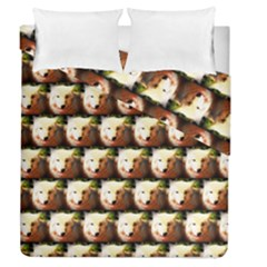 Cute Animal Drops   Wolf Duvet Cover Double Side (queen Size)