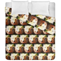 Cute Animal Drops   Wolf Duvet Cover Double Side (california King Size)