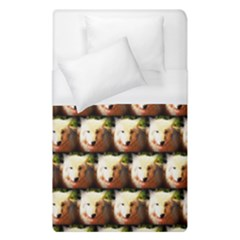 Cute Animal Drops   Wolf Duvet Cover (single Size)