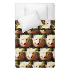 Cute Animal Drops   Wolf Duvet Cover Double Side (single Size)