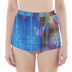 Colorful Stuff High Waisted Bikini Bottoms