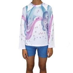 Ultra Wave  Kids  Long Sleeve Swimwear