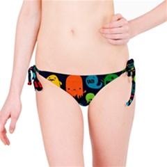 Monsters Colorful Drawing Bikini Bottom