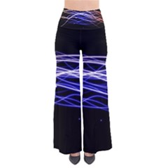 Abstraction Colorful Lines Dark  Pants