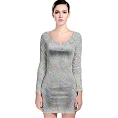 Solved Word Search Containing Animal Related Words Long Sleeve Bodycon Dress