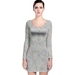 Solved Word Search Containing Animal Related Words Long Sleeve Velvet Bodycon Dress