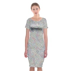 Solved Word Search Containing Animal Related Words Classic Short Sleeve Midi Dress