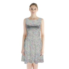 Solved Word Search Containing Animal Related Words Sleeveless Waist Tie Chiffon Dress