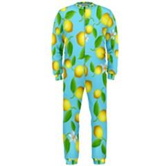 Lemon Pattern Onepiece Jumpsuit (men)