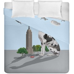 Great Dane Duvet Cover Double Side (king Size)