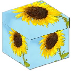 Sunflower Storage Stool 12