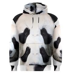 Panda Face Men s Pullover Hoodie