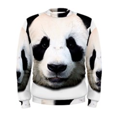 Panda Face Men s Sweatshirt