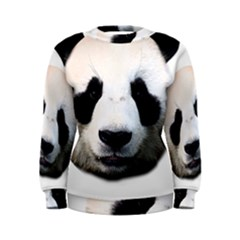 Panda Face Women s Sweatshirt