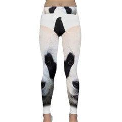 Panda Face Classic Yoga Leggings