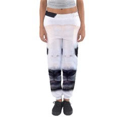 Panda Face Women s Jogger Sweatpants