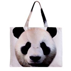 Panda Face Zipper Mini Tote Bag