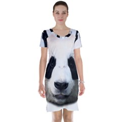 Panda Face Short Sleeve Nightdress