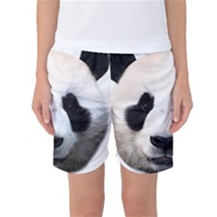 Panda Face Women s Basketball Shorts