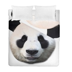 Panda Face Duvet Cover Double Side (full/ Double Size)