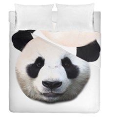 Panda Face Duvet Cover Double Side (queen Size)