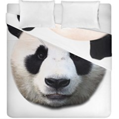 Panda Face Duvet Cover Double Side (king Size)