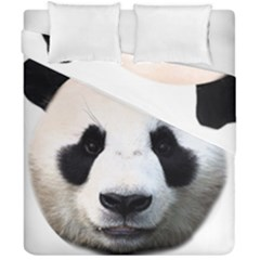 Panda Face Duvet Cover Double Side (california King Size)