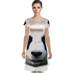 Panda Face Cap Sleeve Nightdress