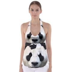 Panda Face Babydoll Tankini Top