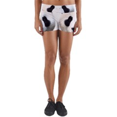 Panda Face Yoga Shorts