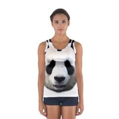 Panda Face Sport Tank Top