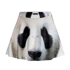 Panda Face Mini Flare Skirt