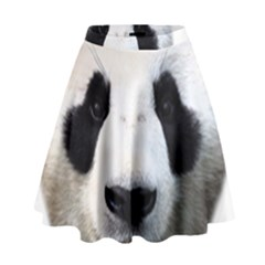 Panda Face High Waist Skirt