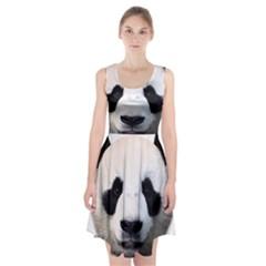 Panda Face Racerback Midi Dress