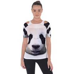 Panda Face Short Sleeve Top