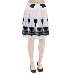 Panda Face Pleated Skirt