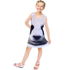 Panda Face Kids  Tunic Dress