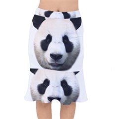 Panda Face Mermaid Skirt