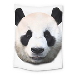 Panda Face Medium Tapestry