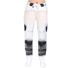 Panda Face Drawstring Pants