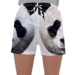 Panda Face Sleepwear Shorts