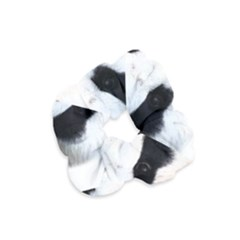 Panda Face Velvet Scrunchie