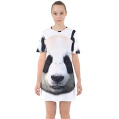 Panda Face Mini Dress