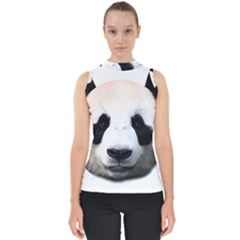 Panda Face Shell Top